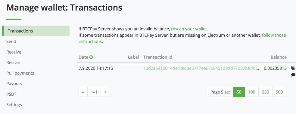Bitcoin Auszahlung Wallet Transaktionen