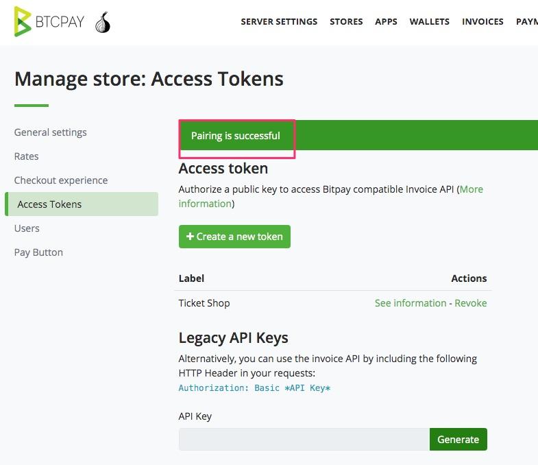 Access Token für digitale Güter