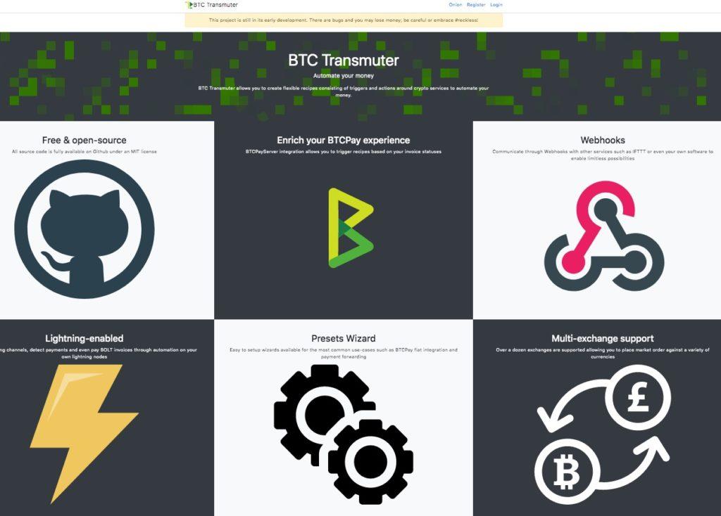 BTCTransmuter BTC Transmuter Startseite