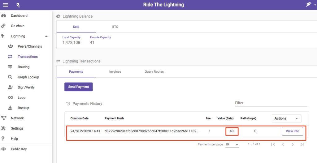 Lightning Direct Debit Subscription