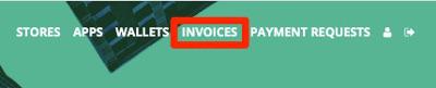 BTCPay Invoices