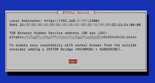 Raspiblitz BTCPay Server