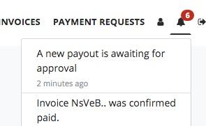 Bitcoin Auszahlung Hinweis
