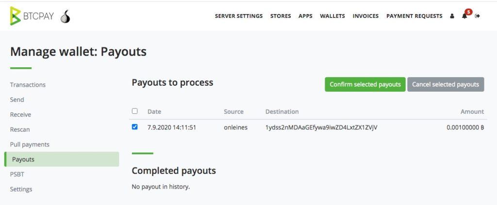 Bitcoin Auszahlung Bestätigen