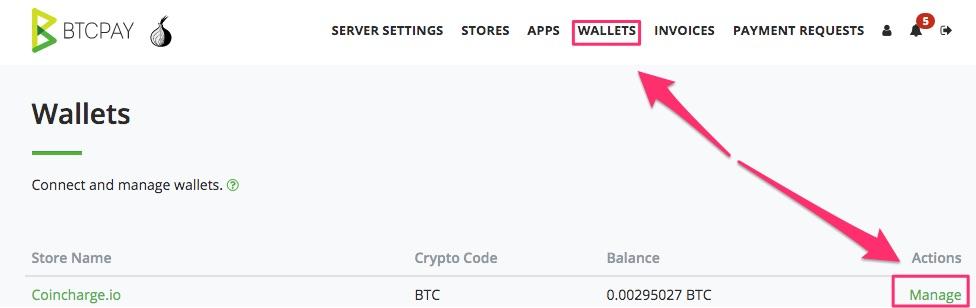 Bitcoin Auszahlung Wallet Managen