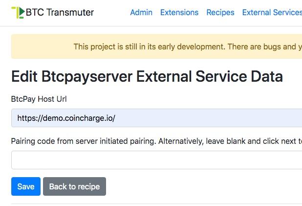 8 Edit Btcpayserver External Service Data BtcTransmuter