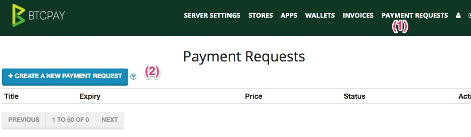 Invoice - request for payment