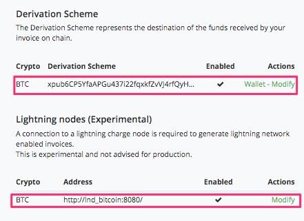 Eine Lightning Zahlung per BTCPay durchführen
