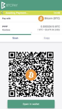 BTCPay Checkout Page