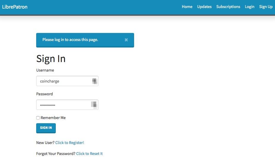 Bitcoin Mitgliedschaft registrieren