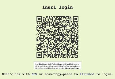lnurl loging