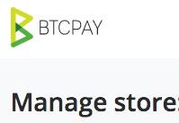 BTCPay Shop administrieren