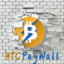 BTCPayWall powered by Coincharge