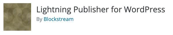Lightning Publisher for Wordpress