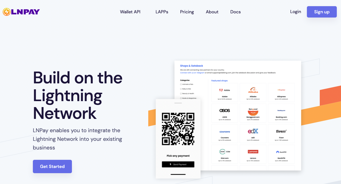 LNPay Homepage