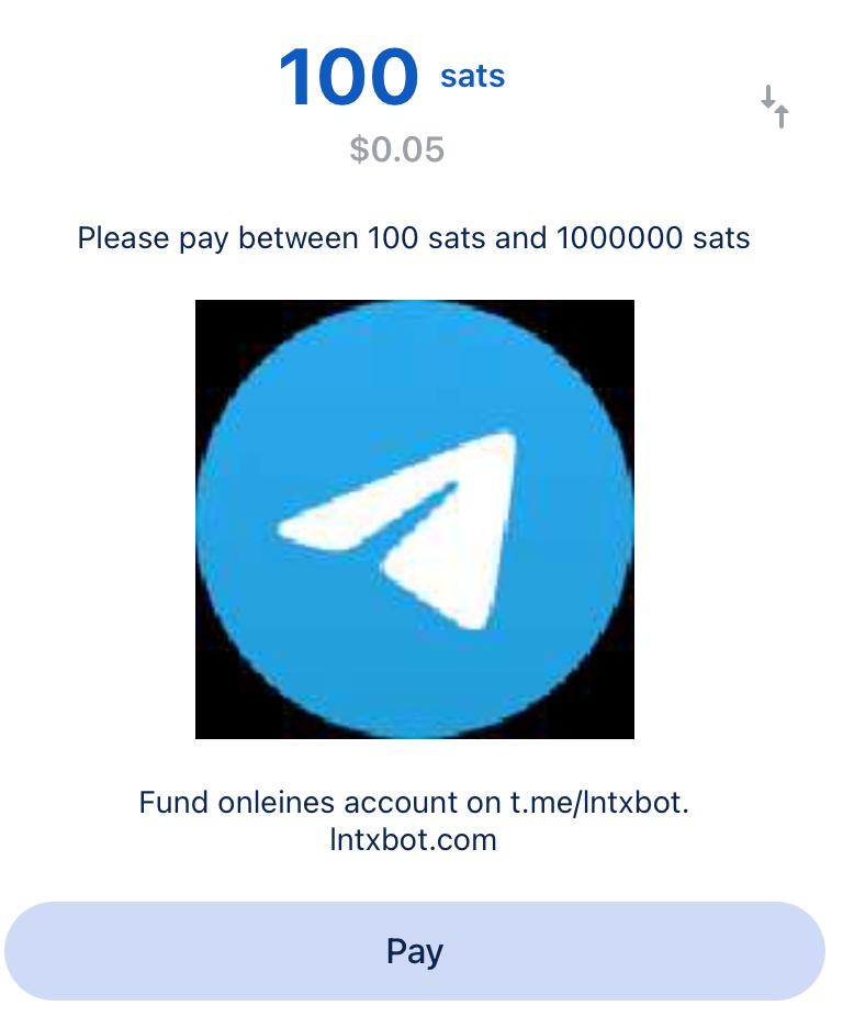 Send Lightning payment to a Lightning address