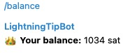 Balancee Lightningtipbot