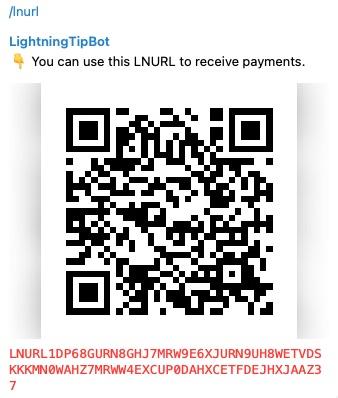 Lightningtipbot LNURL