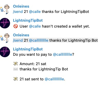 lightning tip bot
